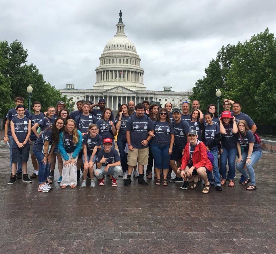 Riverbluff Students DC Trip