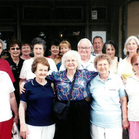 GROUP OF SENIOR ADULTS