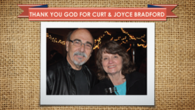 Thank You God For Curt And Joyce Bradford
