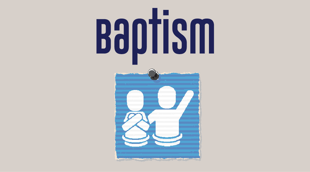 Baptism Service Graphic