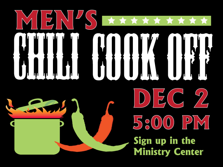 Men's Chili Cook Off Graphic