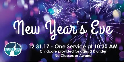 New Years Eve Worship Service