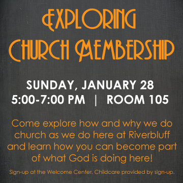 Exploring Church Membership 1.28.18