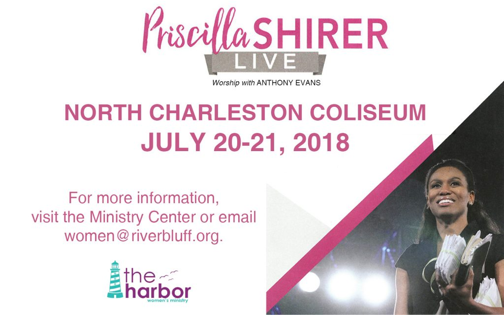 Priscilla Shirer Live in North Charleston