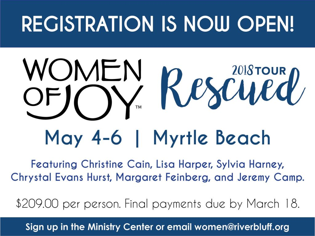 Women of Joy – Myrtle Beach