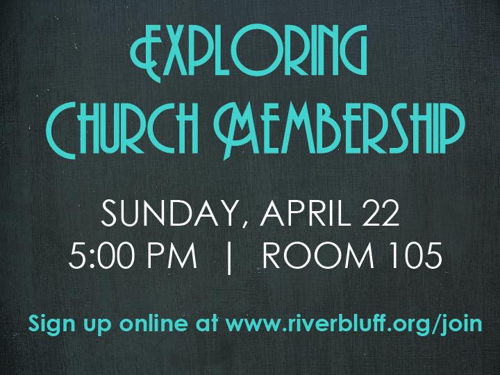 Exploring Church Membership (ECM) Seminar