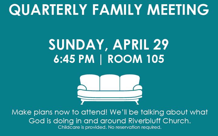Quarterly Family Meeting