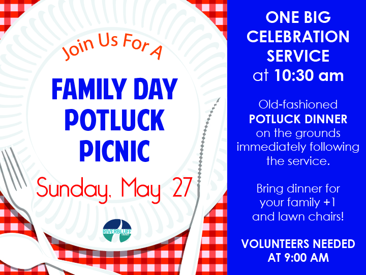 Family Day – Potluck Picnic on the Grounds