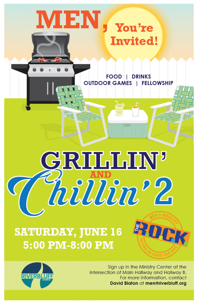 Men's Ministry – Grillin' and Chillin' 2