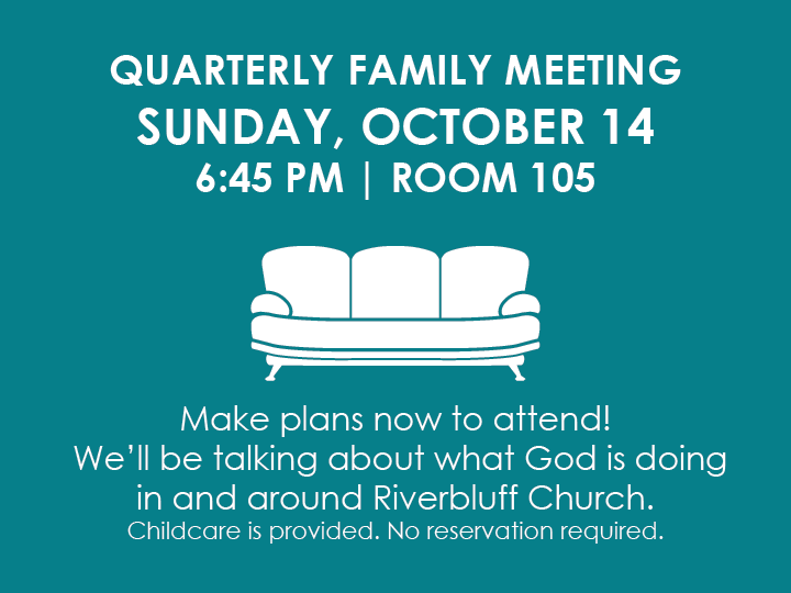 QUARTERLY FAMILY MEETING