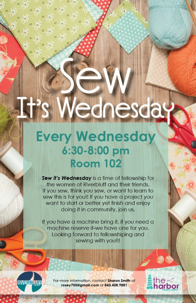 Sew It's Wednesday (Women's Sewing Group)