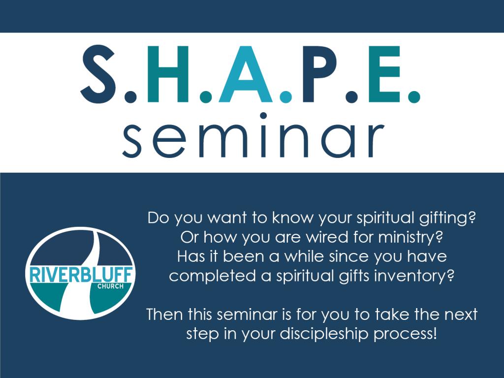 S.H.A.P.E. Seminar