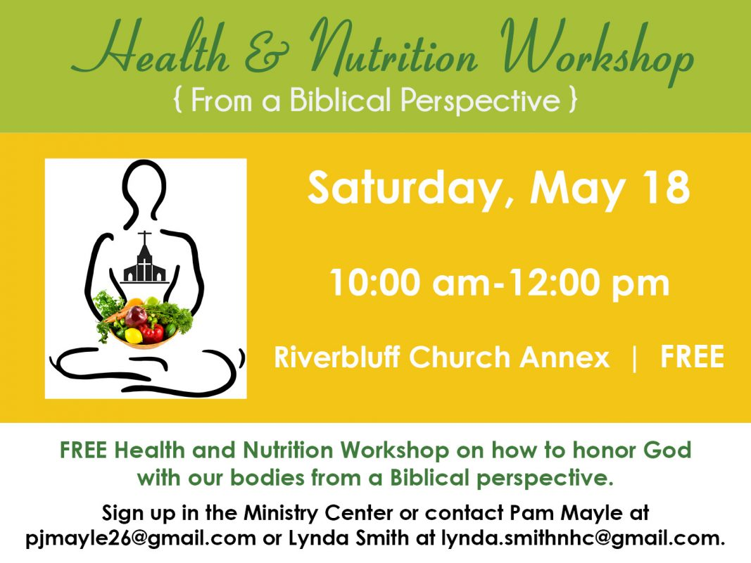 HEALTH AND NUTRITION WORKSHOP