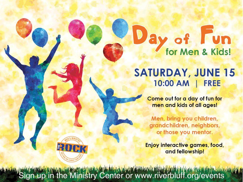 Day of Fun for Men & Kids