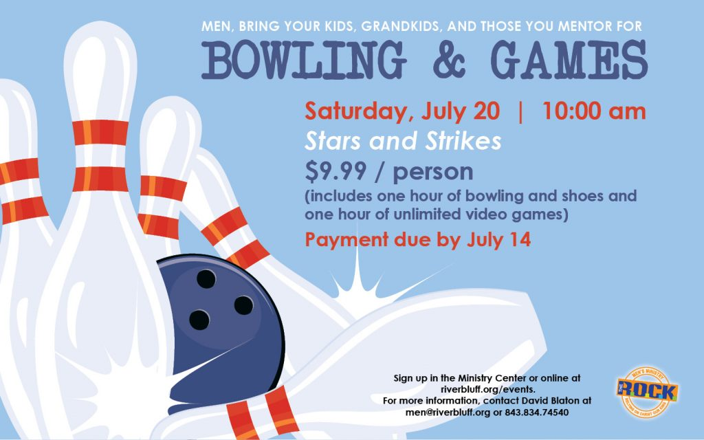 Bowling & Games at Stars & Strikes for Men and Kids