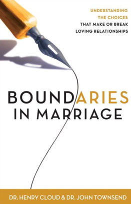 Boundaries in Marriage book cover