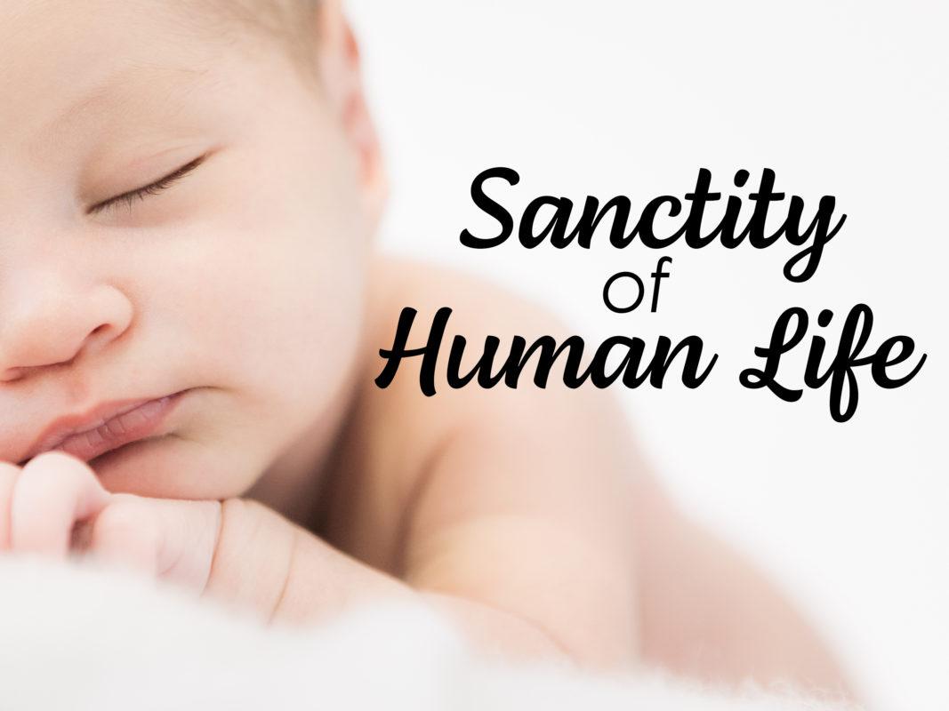 SANCTITY OF HUMAN LIFE 2020 SERMON GRAPHIC