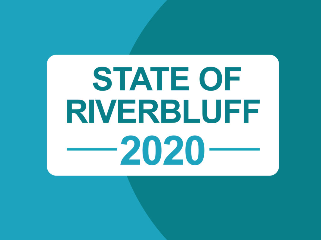 STATE OF RIVERBLUFF 2020 SERMON GRAPHIC