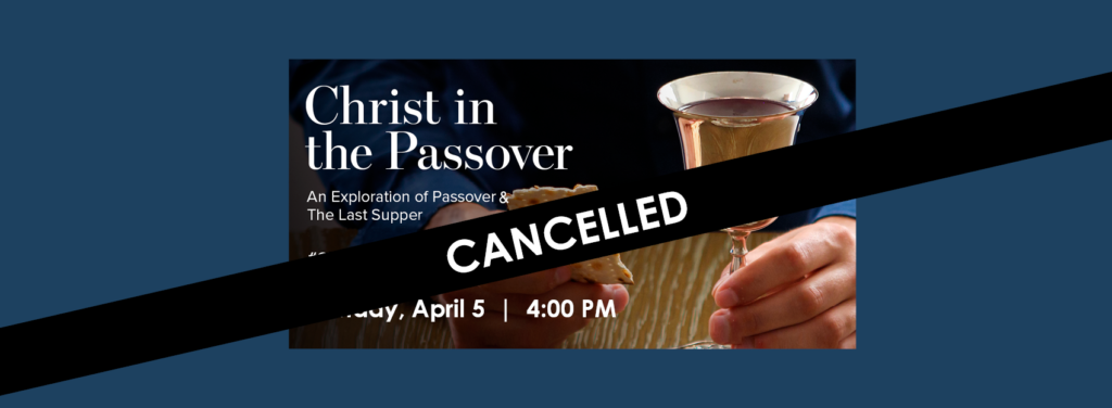 CHRIST IN THE PASSOVER WEB SLIDER_CANCELLED