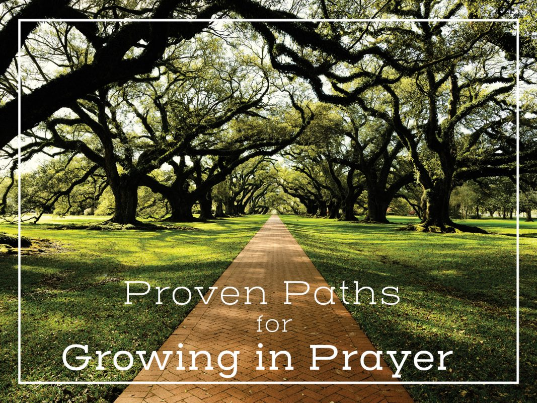 PROVEN PATH FOR GROWING IN PRAYER SERMON GRAPHIC