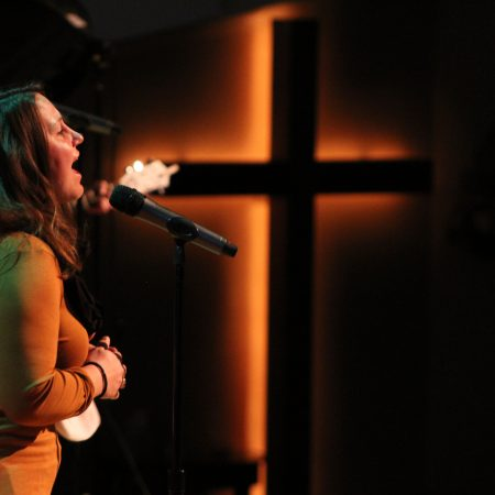 worship and cross