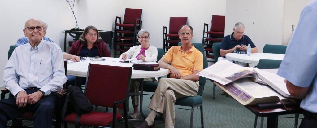 55+ Co-Ed Bible Study
