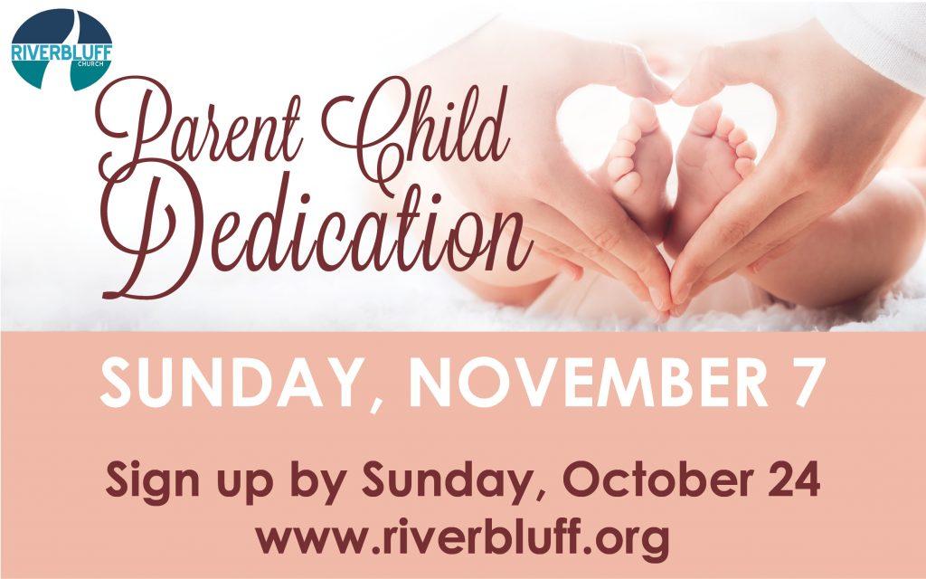 PARENT CHILD DEDICATION NOV 7 2021