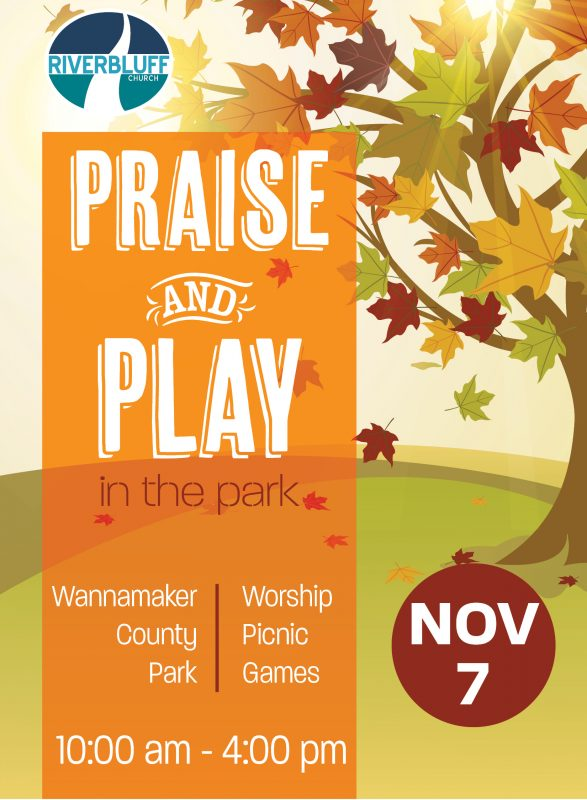 PRAISE AND PLAY 2021 EVENT GRAPHIC